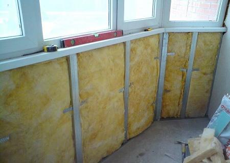 Утепление балкона или лоджии: материалы, подготовка и технология