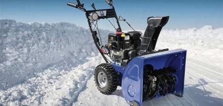 Принцип работы бензинового снегоуборщика и преимущества его использования