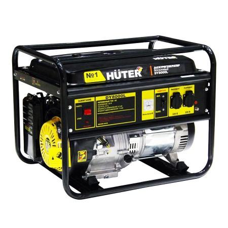 Разновидности и основные достоинства бензиновых генераторов от Huter