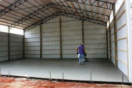 Этапы строительства и преимущества быстровозводимых ангаров