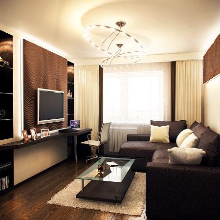 Эффектное обустройство маленькой гостиной: рекомендации, мебель и особенности