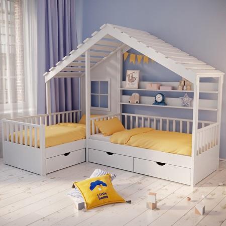 Главные критерии выбора кровати для ребенка и виды мебели