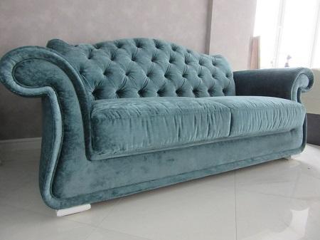 Преимущества каретной стяжки для дивана:  этапы и особенности