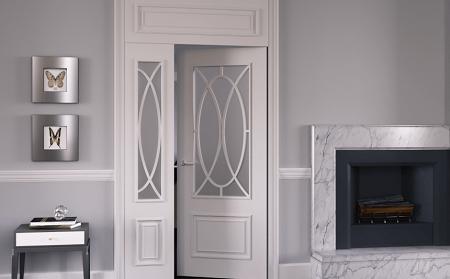 Межкомнатные двери с фрамугой: описание и достоинства