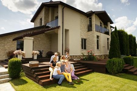 Какой дизайн дома выбрать для двух семей?