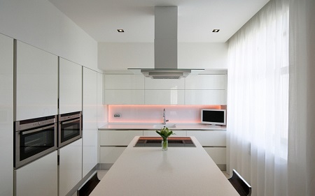Кухня в стиле минимализм: советы, способы и виды, и особенности