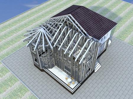 Как сделать проект дома из ЛСТК: этапы процесса и особенности