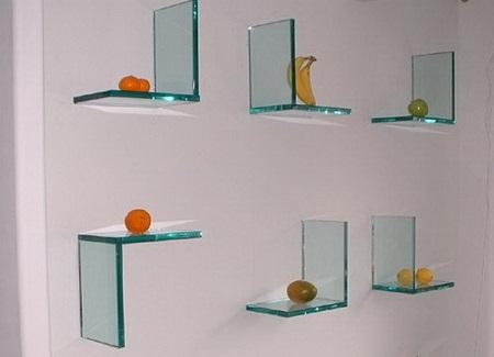 Как сделать полки из стекла своими руками: этапы и нюансы изготовления