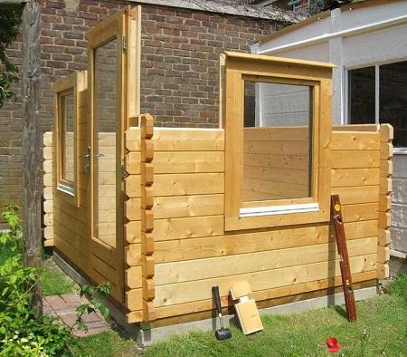 Строительство деревянной бытовки: способы и этапы проведения работ