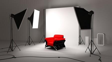 Оформление фотостудии и требуемое оборудование: правила и порядок действий