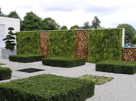 Геометрические фигуры в ландшафтном дизайне: интересные идеи