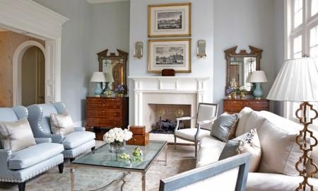 Как оформить гостиную в георгианском стиле: его характеристики и советы по выбору мебели