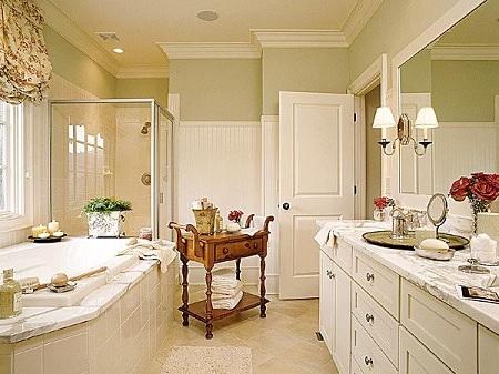 Стилевые решения в дизайне интерьера ванной комнаты