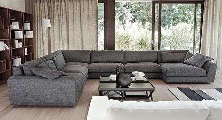 Как подобрать диван в гостиную: виды, характеристики и особенности