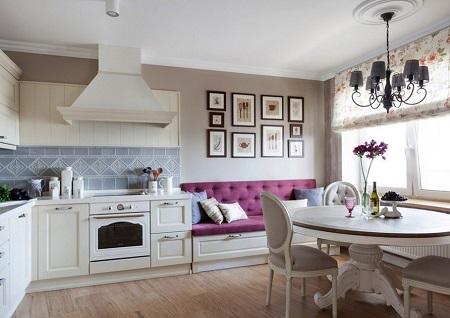 Оформление интерьера кухни картинами: критерии и советы по выбору