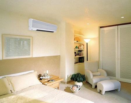 Где расположить и как установить настенный кондиционер в спальне: советы и варианты