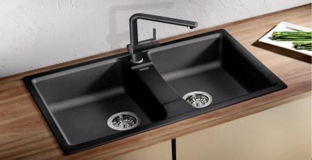 Разновидности кухонных моек с двумя чашами и их преимущества