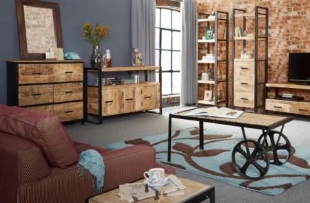 Какими достоинствами обладает мебель в стиле лофт: ее основные характеристики