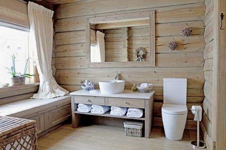 Мебель для ванной комнаты в стиле: сравнение этнического стиля и хай-тек