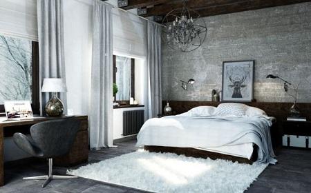 Как выбрать мебель для спальни в стилях лофт и эко: сочетание и особенности