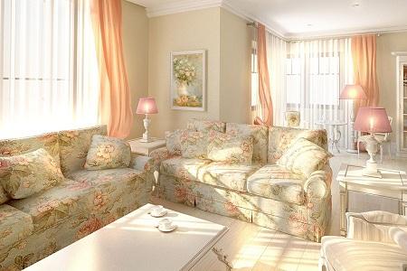 В каком стиле подобрать мебель для гостиной: сравнение прованс и модерн