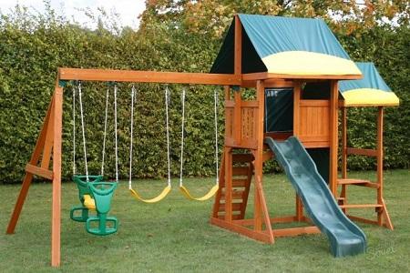 Обустройство детской площадки на даче: правила, этапы и советы