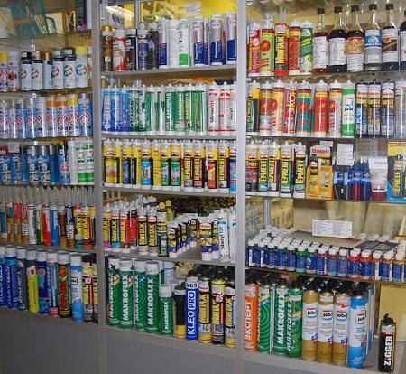 Какие виды строительной пены и герметиков представлены на современном рынке