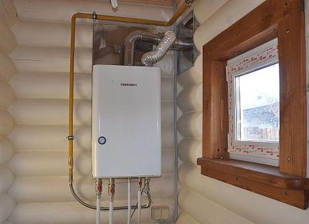 Подключение газового котла в доме: правила и этапы