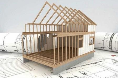 Проектирование каркасного дома и использование адаптированного проекта
