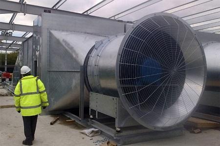 Промышленные вентиляторы: существующие виды и их характеристики