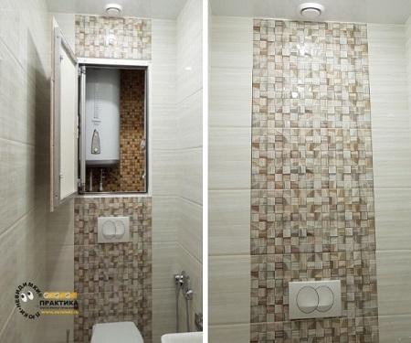 Установка ревизионного люка в ванной комнате и назначение устройства