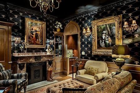 Отделка интерьера гостной в викторианском стиле: советы и рекомендации