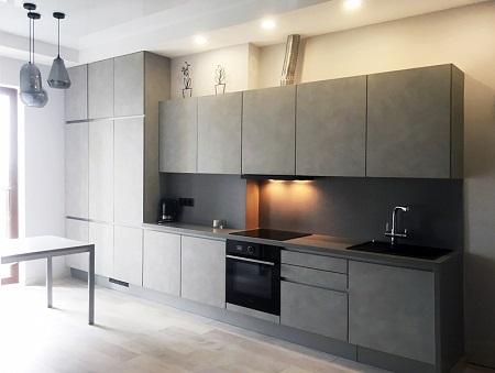 Столешница и фасады для кухни: материалы изготовления и требования