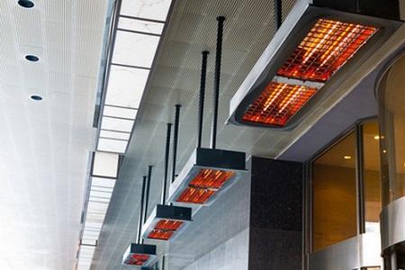 Достоинства тепловых завес и особенности их установки