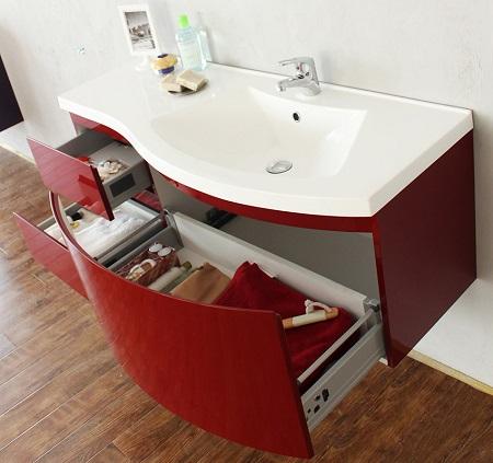 Особенности использования раковины с тумбой в интерьере ванной комнаты