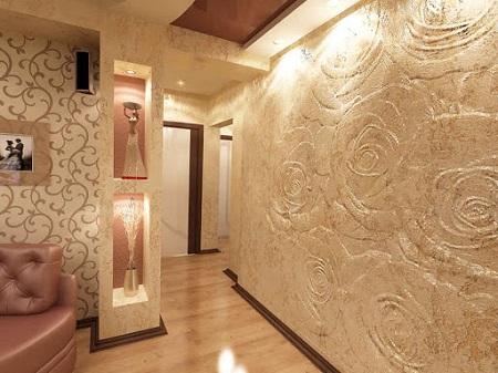 Последовательность работ при нанесении венецианской штукатурки на стены